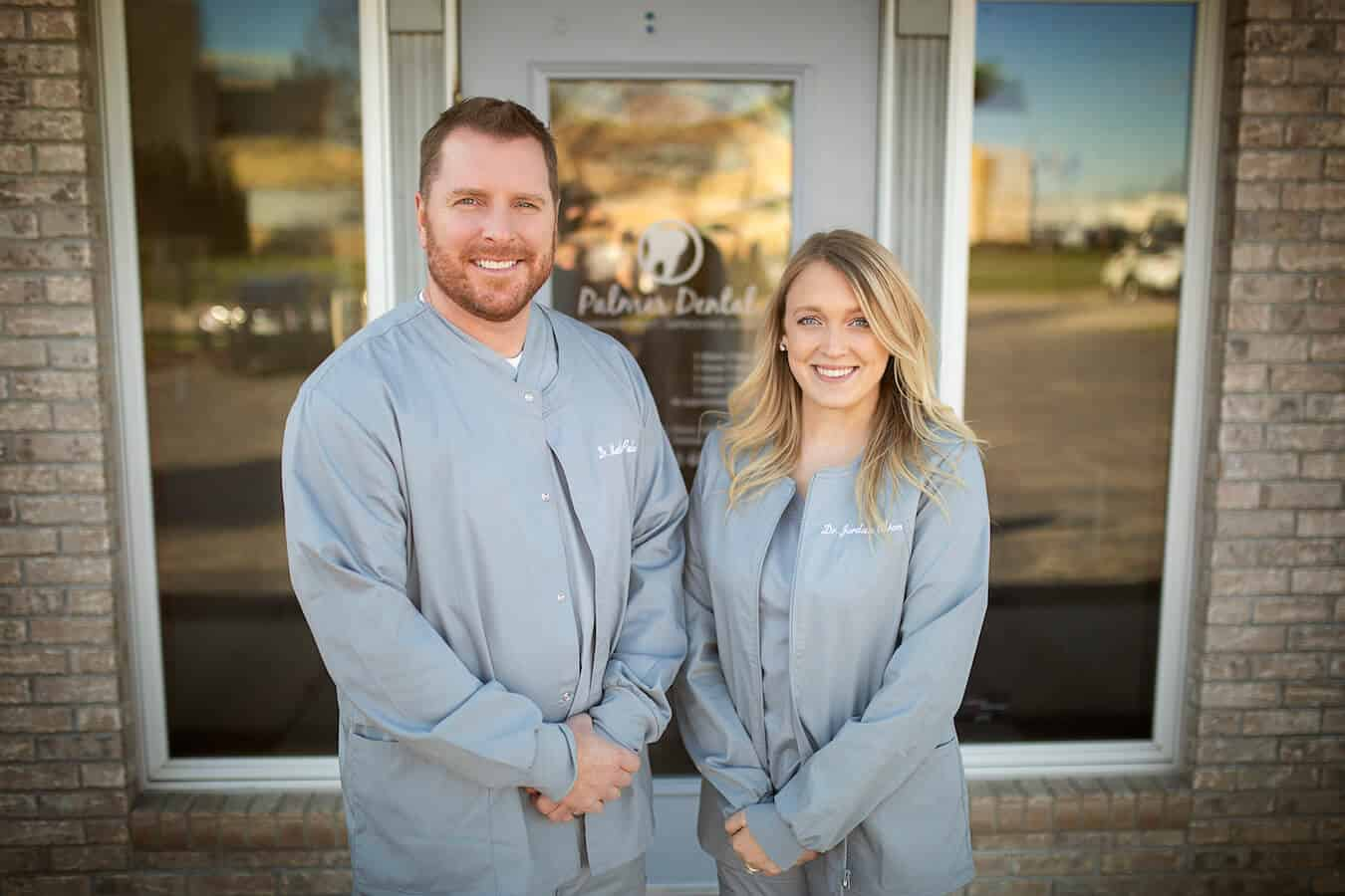 Dr. Palmer and Dr. Olson of Palmer Dental